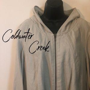 Coldwater Creek, 20W/22W, Spring, Sturdy, Linen